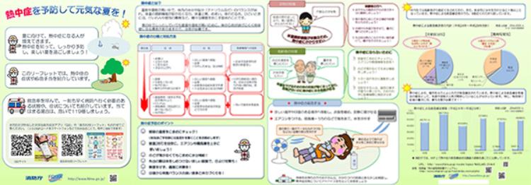 熱中症予防&対策リーフレット